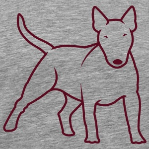 Bull Terrier bully_1c T-Shirts - Men's Premium T-Shirt