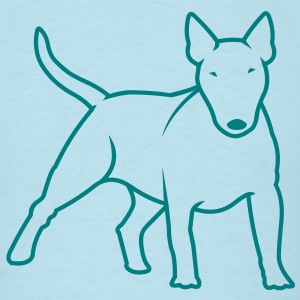 Bull Terrier bully_1c T-Shirts - Men's T-Shirt