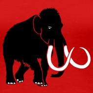 Design ~ animal t-shirt mammoth elephant tusk ice age mammut