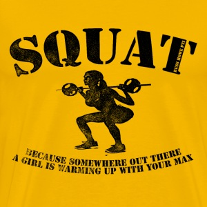 Squat T-Shirts - Men's Premium T-Shirt