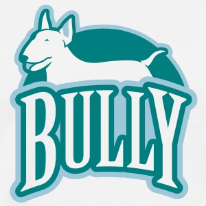 Bull Terrier bully_g_2c_4light T-Shirts - Men's Premium T-Shirt