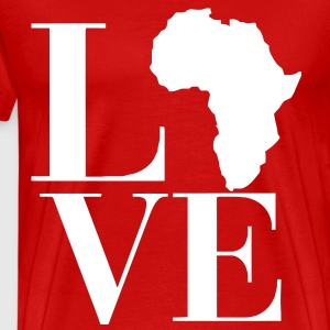 Love Africa T-Shirts - Men's Premium T-Shirt