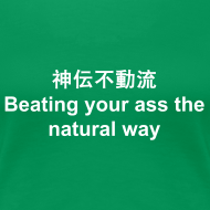 Design ~ Shinden Fudo Ryu – Beating your ass the natural way