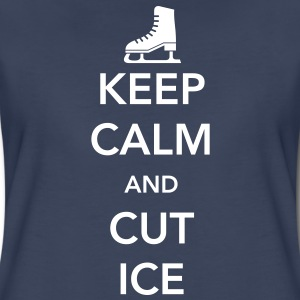 Keep Calm and Cut Ice Women's T-Shirts - Women's Premium T-Shirt
