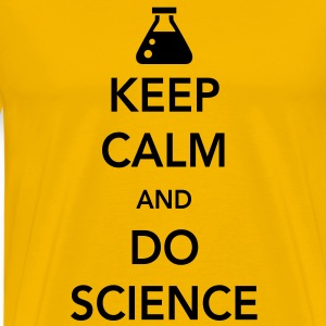 Keep Calm and Do Science T-Shirts - Men's Premium T-Shirt