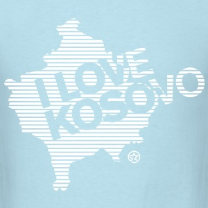 I LOVE KOSOVO T-Shirts - Men's T-Shirt