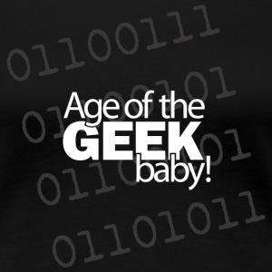 age of the geek  - Women's Premium T-Shirt