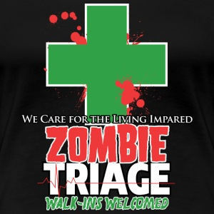 Zombie Triage - Women's Premium T-Shirt