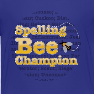 Spelling Bee - Champion  - Kids' Premium T-Shirt
