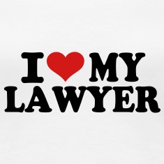 I love my Lawyer Women's T-Shirts