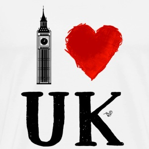 I Heart UK (remix) - Men's Premium T-Shirt