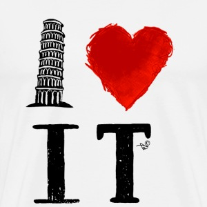 I Heart Italy (remix) - Men's Premium T-Shirt