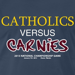 Catholics vs Carnies - Men's Premium T-Shirt