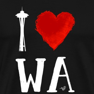 I Heart Seattle (remix) - Men's Premium T-Shirt