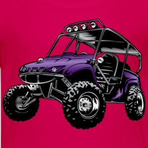 UTV side-x-side rhino, purple - Kids' Premium T-Shirt