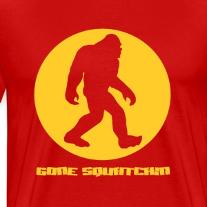 Gone Squatchin T-Shirts - Men's Premium T-Shirt
