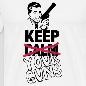 KEEP (CALM) YOUR GUNS - Gents