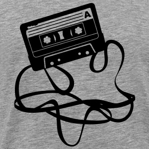 cassette audio tape T-Shirts - Men's Premium T-Shirt