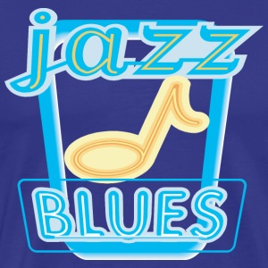 Mardi Gras Jazz and Blues T-Shirt - Men's Premium T-Shirt