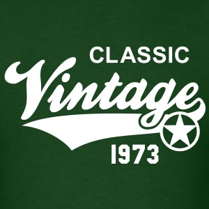 Vintage CLASSIC 1973 Birthday Anniversary 40th T-S - Men's T-Shirt