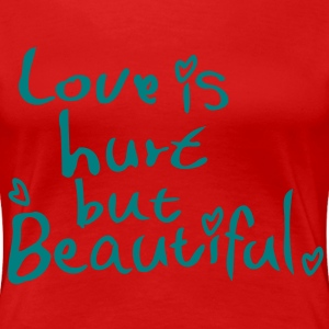 Love is  Women's Plus Size Basic T-Shirt - Women's Premium T-Shirt
