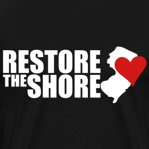 Restore the shore T-Shirts - Men's Premium T-Shirt
