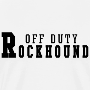 Rockhound Off Duty T-Shirt - Men's Premium T-Shirt