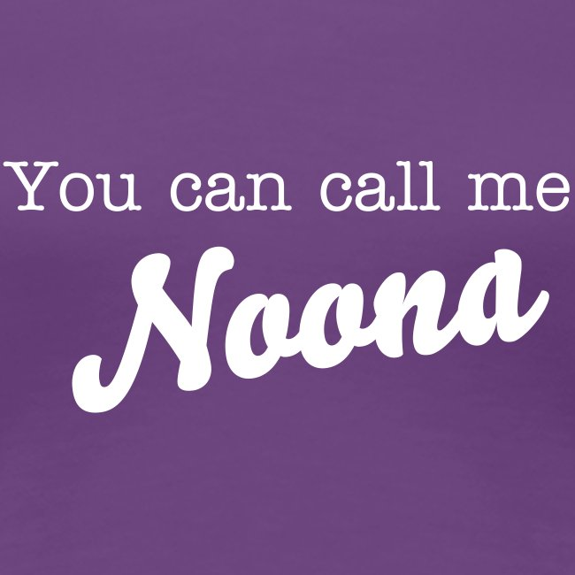 You Can Call Me Noona Tee
