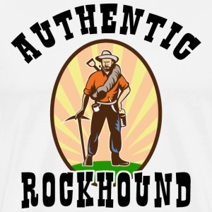 Authentic Rockhound T-Shirt - Men's Premium T-Shirt