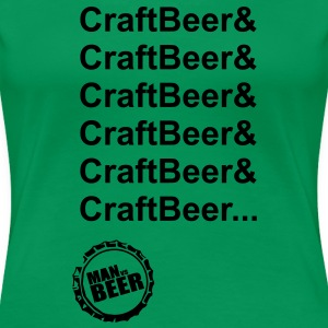 CraftBeer Chicks Clasic Fit Top - Women's Premium T-Shirt