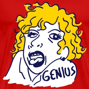 genius girl - Men's Premium T-Shirt