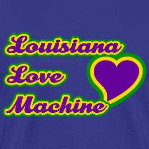 Louisiana Love Machine T-Shirt - Men's Premium T-Shirt