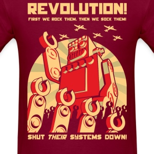 Robot Revolution T-Shirts - Men's T-Shirt