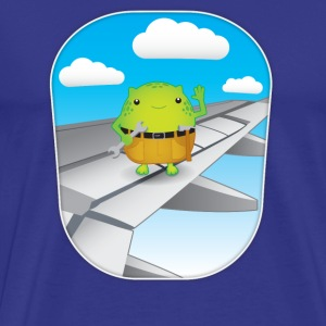 Gremlin on the Wing - Men's Premium T-Shirt