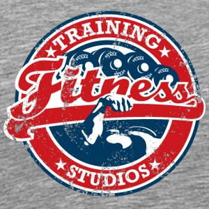 Fitness Training Studios Emblem - Men's Premium T-Shirt