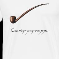 Design ~ Ceci n'est pas une pipe des hobbit.