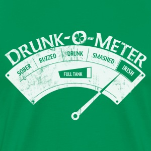IRISH DRUNK-O-METER T-Shirts - Men's Premium T-Shirt