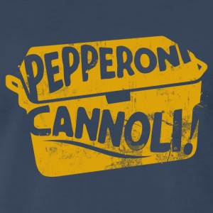 PEPPERONI CANNOLI T-Shirts - Men's Premium T-Shirt