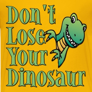 Don't Lose Your Dinosaur Stepbrothers Kids' Shirts - Kids' Premium T-Shirt
