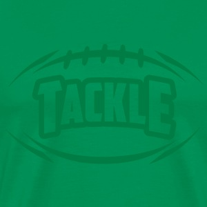 AMERICAN FOOTBALL tackle_4light_1c T-Shirts - Men's Premium T-Shirt