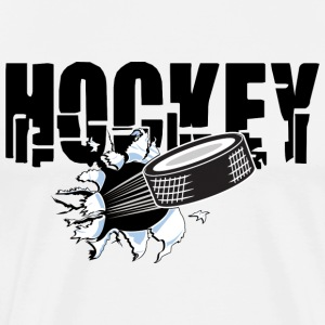 Hockey T-Shirt - Men's Premium T-Shirt