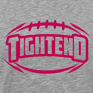 AMERICAN FOOTBALL tightend_4light_1c T-Shirts - Men's Premium T-Shirt