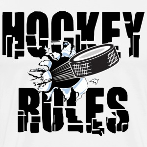 Hockey Rules T-Shirt - Men's Premium T-Shirt