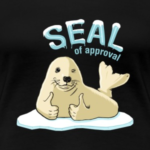 Seal of Approval - Women's Premium T-Shirt
