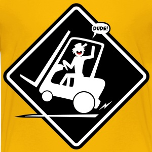Forklift Placard Kid's-T - Kids' Premium T-Shirt