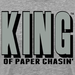 KING OF PAPER CHASIN' T-Shirts - Men's Premium T-Shirt