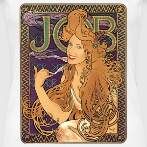 Mucha – Job Cigarettes II - Women's Premium T-Shirt