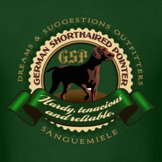 german_shorthaired_pointer_htr T-Shirts
