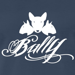 Bull Terrier Bully 3heads T-Shirts - Men's Premium T-Shirt