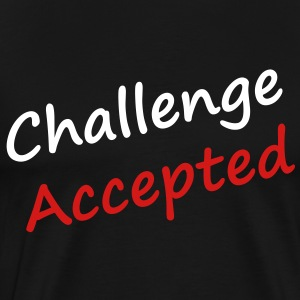 challenge_accepted - Men's Premium T-Shirt